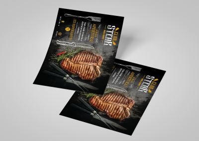 Brochure Club Steak